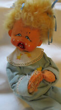 Vintage Annalee Blonde Hair Ugly Doll