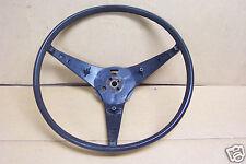 1971 1972 1973 Dodge Charger Mopar Steering Wheel Black W/Cancel Cam