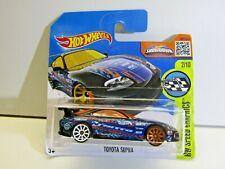 Mattel Hot Wheels HW Speed Graphics Toyota Supra Blue Nitto 2015 177/250 DHX55