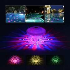 More details for underwater lazy spa hot  tub swimming pool floating sensory colorful led lights
