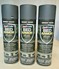 Dupli-Color BED ARMOR Midnight Brown Truck Liner Rubberized Textured Lot of 3