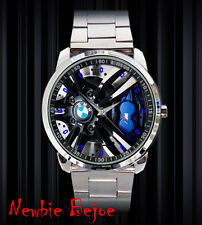 New item BMW M3 M5 Rim Stainless Steel Sport Metal Watch 1