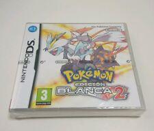 POKEMON EDICION BLANCA 2 NINTENDO DS 3DS PAL ESPAÑA ESPAÑOL NUEVO Y PRECINTADO