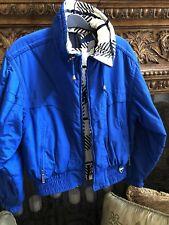 Tyrolia Skiwear Jacket Reversible Royal Blue Sz 6