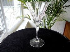 Royal Crystal Rock Novecento Pattern Clear Wine Glass Retired