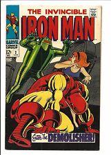 IRON MAN #2 (Enter the Demolisher, juin 1968), FN /VF