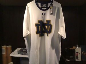 Notre Dame 3XL Under Armour Heat Gear Short sleeve Tshirt
