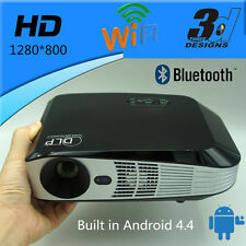 New 1280x800 LED 4K Real Active 3D Imax Video HD DLP Projector
