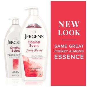 Jergens Original Scent Dry Skin Lotion with Cherry Almond Essence, 21 Oz
