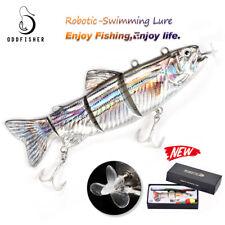 Electric Live baits-Animated Swimbait,Swimming Robotic Segment Fishing Lure