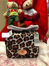 ~NWT Coach Page Shoulder Bag Crossbody Handbag in Ocelot Printed Haircalf 33636