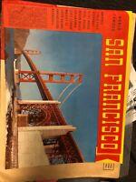 VINTAGE WORLD FAMOUS SAN FRANCISCO BOOKLET, Travel Guide 1972