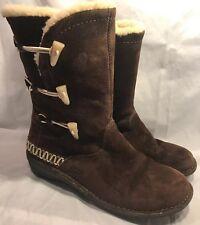Ugg Australia Women's Size 10 Brown Button Boots Kona 5183