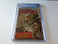 TALES OF SUSPENSE 19 CGC 3.5 THE GREEN THING STEVE DITKO JACK KIRBY MARVEL COMIC