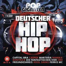 POP GIGANTEN DEUTSCHER HIP HOP -  CAPITAL BRA/CRO/MARTERIA/CASPER/+ 2 CD NEUF