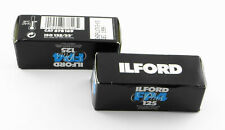 New With Boxed : 2x ILFORD FP4 Plus 125 Black & White Film 120