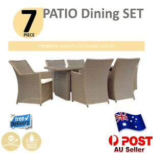 7Pc/5Pc/4Pc Rattan Wicker Sofa Set Furniture Indoor Outdoor Patio Lounge Setting