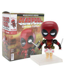 Nendoroid Hero 662 Red Deadpool Orechan Edition 10cm Action Figure Model