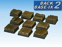 20mm Resin Scenic Bases 10 Sq Timber Decking Warhammer