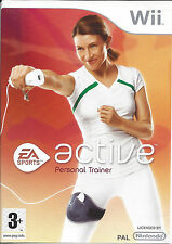 ACTIVE PERSONAL TRAINER for Nintendo Wii - with box & manual - PAL