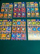 1999 Pokemon Cards Burger King Uncut Sheets 1st Movie Promo Cards Vintage