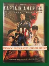 CAPTAIN AMERICA: THE FIRST AVENGER DVD *AUTHENTIC READ* Brand New Free Shipping