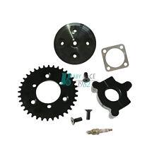 CNC 36T Sprocket Assembly  Cylinder Head Cover Kit For 80cc Motorized Bike Black