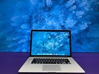 "RETINA  APPLE MACBOOK PRO 15"" | 16GB RAM 2TB SSD | OS2020 | QUAD CORE i7 3.4GHz"
