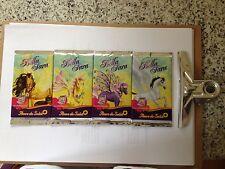 "4 pochettes de cartes Bella Sara ""Fleurs du Soleil"""