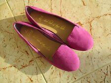F&F Ladies Purple Slip On Flat Shoes Size 6
