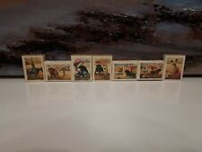 7 full Vintage Rare Matchboxes - Fosforera Espanol Spanish Bullfighting Series