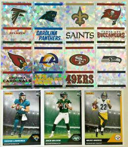 PANINI NFL AMERICAN FOOTBALL 21/22 2021 2022 STICKERS & CARD 455-561 & c1-c100