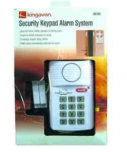 KEYPAD ALARM SECURITY SYSTEM DOOR SHED GARAGE CARAVAN