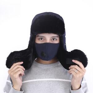 Flaps Cover Neck Trooper Hood Caps Ski Women Men Winter Face Mask Hat With Ear