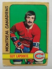 1972-73 OPC O-Pee-Chee #86 Guy Lapointe Montreal Canadiens - VG