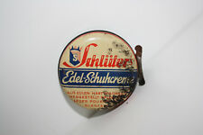 Schlüter's Edel-Schuhcreme Tin Can, Prewar