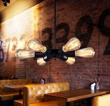 Vintage Industrial Retro Metal Pendant Ceiling Light Bar Cafe Ediosn Chandelier