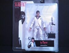 Scarface The Player Action Figure Pistol And Briefcase White Suit 2005 By Mezco