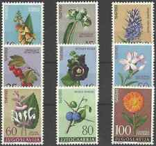 Timbres Flore Yougoslavie 843/51 ** lot 25666 - cote : 16 €