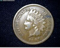 Nice 1908  Indian Head Cent Penny  #LTii