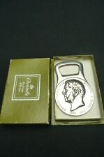CHRISTOFLE SILVER PLATED BOTTLE OPENER IN ORIGINAL BOX