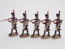 Lot 5 Figurines Hobby & Work Régiment Grenadier à pied Peloton au feu Napoléon