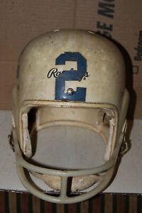 Vintage Rawlings Football Helmet Cy-Co-Lite HC 40 6 3/8-6 1/2 Rare