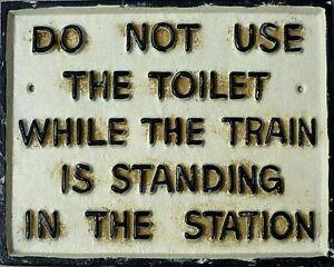 Golden Age of Steam RailwayTrains Aged Vintage Retro style Metal Sign Plaque