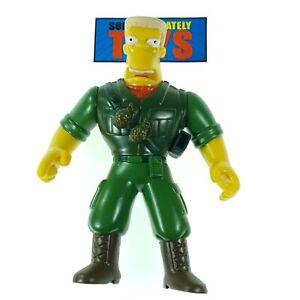 The Simpsons Aztec Theater MCBAIN Playmates military action figure figurine