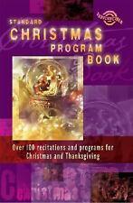 Standard Christmas Program Book (Holiday Program Books)