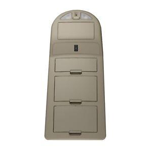 2007-2008 Nissan Titan Beige Overhead Interior Console Compartment Reading Light