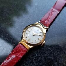 ROLEX Ladies 18K Gold 9632 Cocktail Dress Watch, c.1950s Swiss Luxury LV559