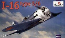 Amodel 1/72 Polikarpov I-16 Type 5/6 # 72123