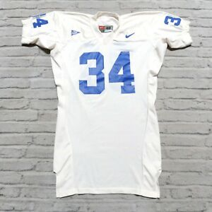 Vintage Game Worn Kentucky Wildcats Football Jersey by Nike Size 48 Used Pro Cut